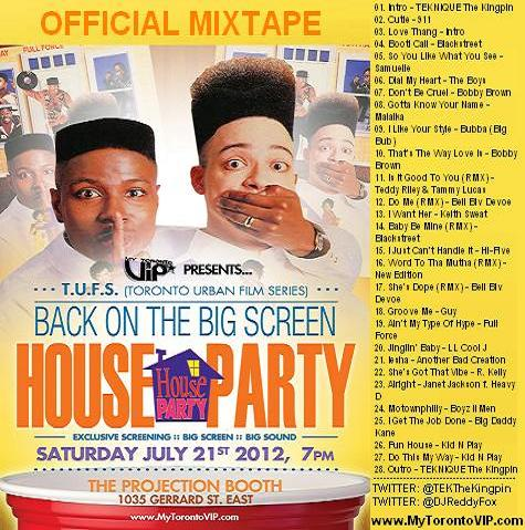 HOUSE-PARTY-The-Mixtape